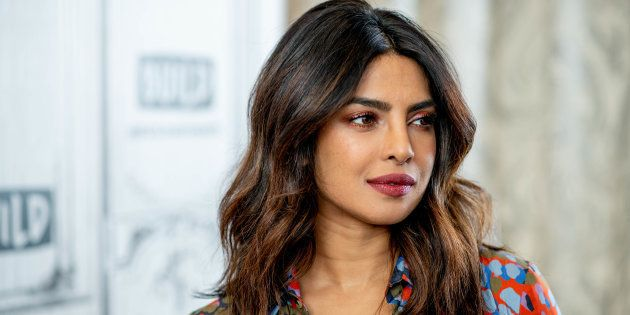NEW YORK, NY - APRIL 26: Priyanka Chopra discusses 'Quantico' with the Build Series at Build Studio on...