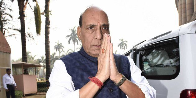 Rajnath Singh Says Govt Proud Of Lucknow Terror Suspect Saifullah's
