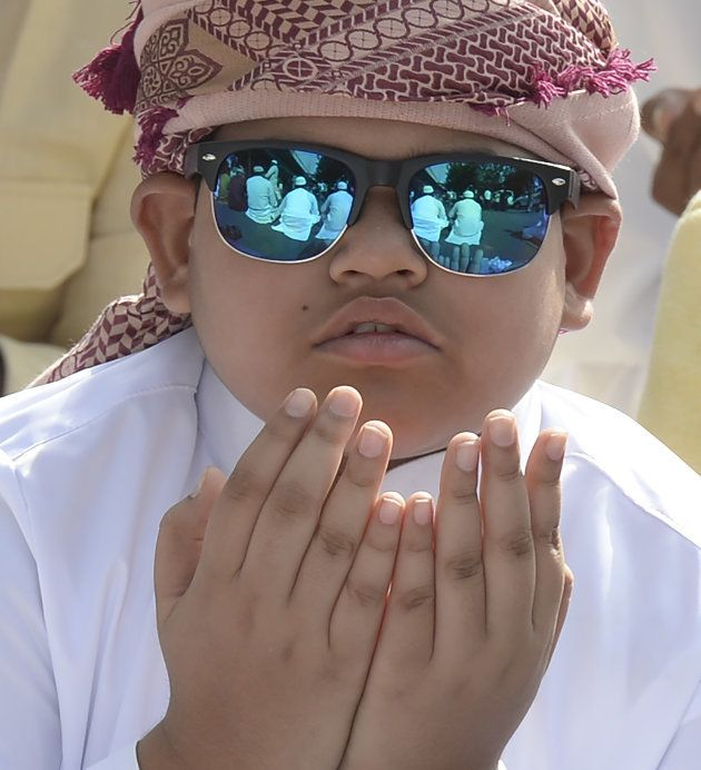 This Hyderabad boy offered prayers in his fancy