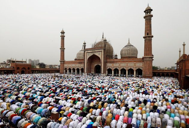 Eid al-Fitr prayers were offered marking the end of