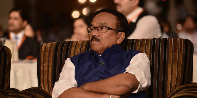 Goa Chief Minister Laxmikant Parsekar Submits Resignation To