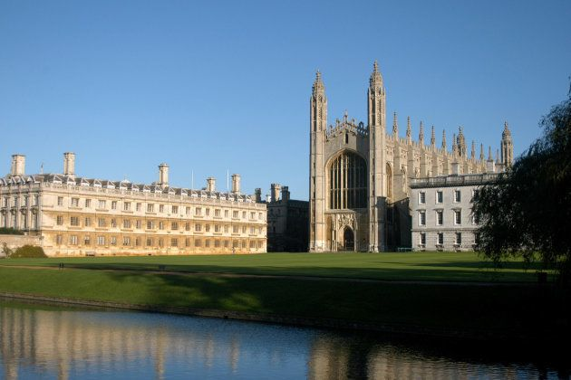 Cambridge University's Kings College and Clare College