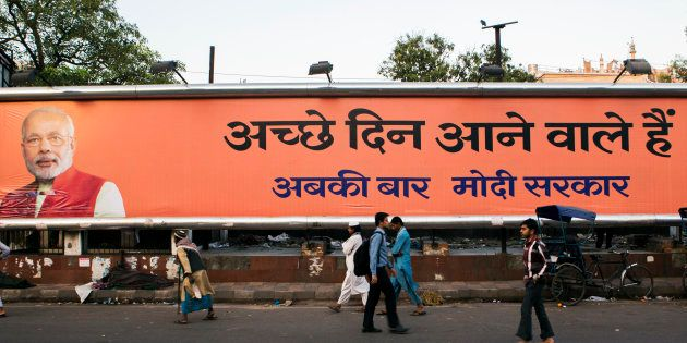 Election Commission Instructs Removal Of Photos Of Political Leaders From Hoardings In Poll-Bound