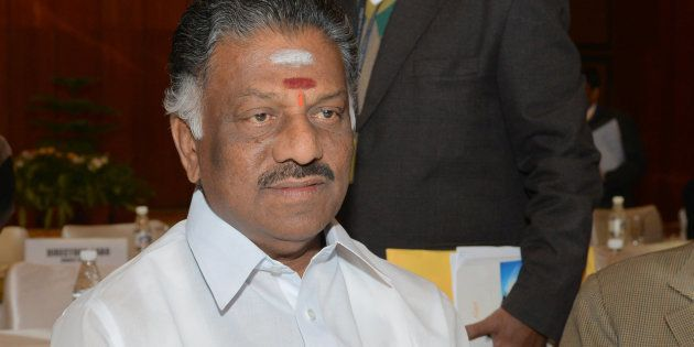 CM O Panneerselvam Declares Tamil Nadu Drought-Hit