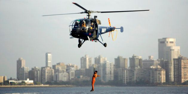 IAF's Chetak Helicopter Crashes Near Allahabad, Pilots