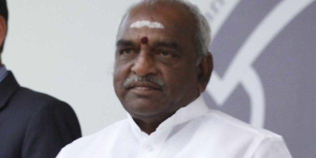 Slipper Hurled At Union Minister Pon Radhakrishnan During JNU Student's Last