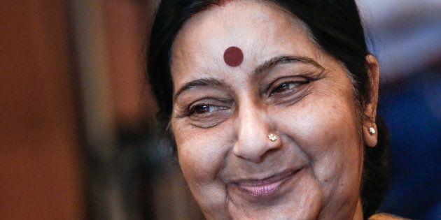 Sushma Swaraj Seeks Report About Hyderabad Woman Stranded In