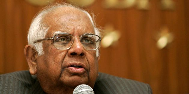 Former Lok Sabha Speaker Somnath Chatterjee in a file