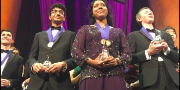 Indian-American Teenager Wins The Most Prestigious Science Award In The United States, Takes Home