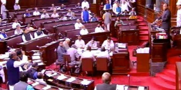 Ruckus In Rajya Sabha Over Goa Governor's Role In The Formation Of BJP Govt In The