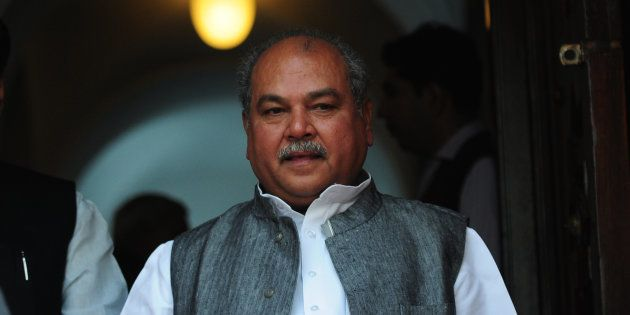 A file photo of Narendra Singh Tomar, Union Minister of Rural Development, Panchayati Raj and