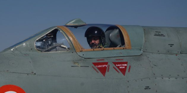 Indian Air Chief Marshal B S Dhanoa on Thursday flew a solo sortie of the MiG-21 Type