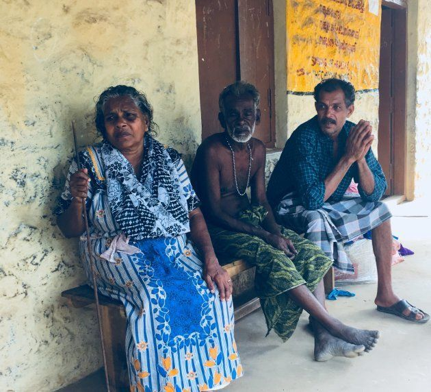Thangamma (left) and Rajan (extreme right) both left their homes on the night of 15 August, when they...