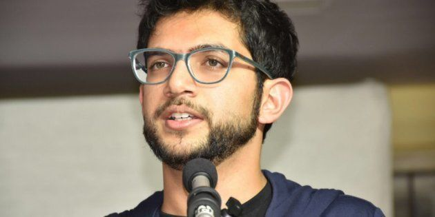 Yuva Sena Chief Aaditya Thackeray's Car Collides With Another