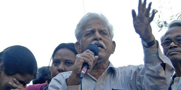 A file photo of activist Varavara Rao, who is among those who have been arrested by the Pune police in...