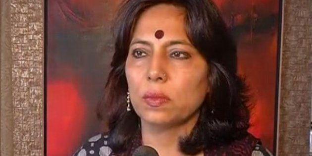 File photo of former Delhi Commission for Women chief Barkha
