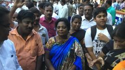 Woman Student Arrested For Raising Slogans In Presence Of Tamil Nadu BJP Chief Gets