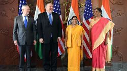 India, US hold inaugural 2+2 talks in