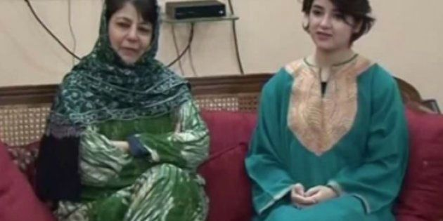Since Zaira met Mufti over the weekend, social media hasn't stopped trolling