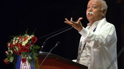 Students Accuse Hindutva Group Of Kicking And Spitting On Them At Chicago Mohan Bhagwat