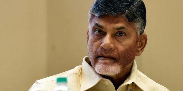 A file photo of Andhra Pradesh Chief Minister N Chandrababu