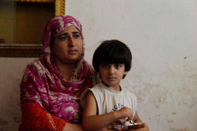 The wife and child of Naikoo's cousin Shiraz, who is still in police custody.