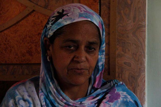 Mudasir Khan's mother.