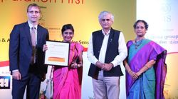 Adrija Bose Wins Laadli Award For Three 'HuffPost India'