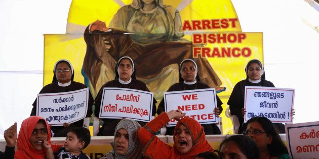 Nuns in Kerala have been protesting for days demanding that Mulakkal be