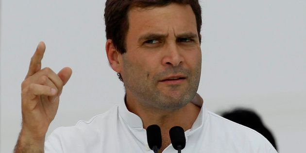 Daro Mat, Rahul Gandhi Tells BJP After It Filed A Complaint With EC Over His 'Hand'