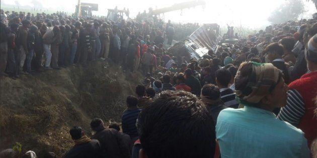 24 School Children Killed After Bus Collides With Truck In Uttar Pradesh's