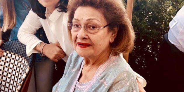 Krishna Raj Kapoor Dies Aged