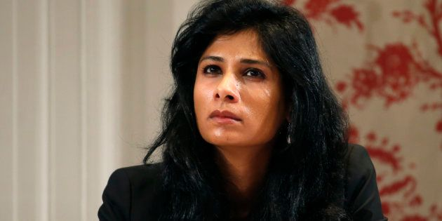Gita Gopinath in a file