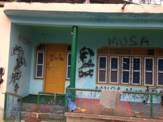 A few months ago, said Asadullah, the police spray-painted Musa's name all over his