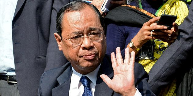 Ranjan Gogoi was sworn in as the Chief Justice of India on