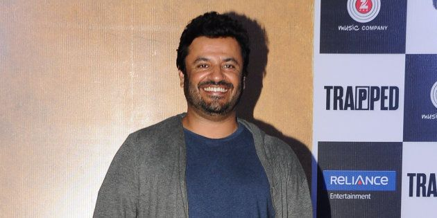 MUMBAI, INDIA - FEBRUARY 22: Bollywood filmmaker Vikas Bahl during the trailer launch of film Trapped...