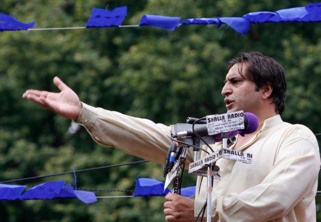 Sajjad Gani Lone is a former separatist who is now leader of the Jammu & Kashmir People's