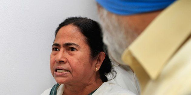 A file picture of West Bengal chief minister Mamata