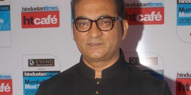 Singer Abhijeet Bhattacharya in a file