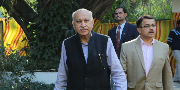 MJ Akbar in a file