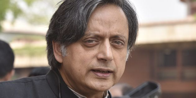 Shashi Tharoor in a file