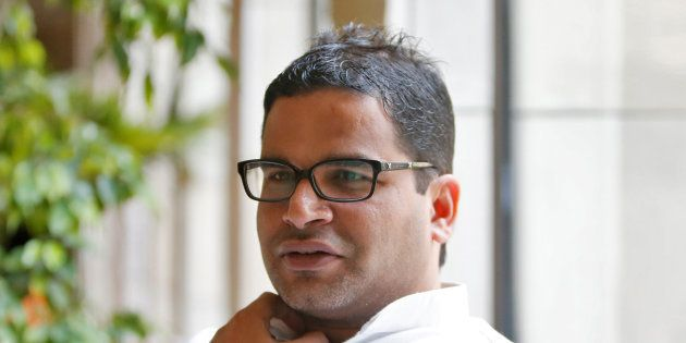 Prashant Kishor in a file
