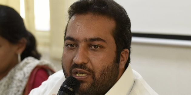 NSUI national president Fairoz Khan in a file
