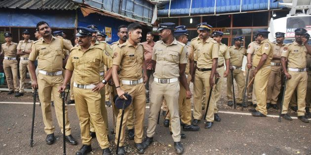 Police deployed in Kerala because of Sabarimala