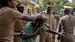 Viral Video Allegedly Shows Policeman In Chennai Setting Fire To An Auto During Jallikattu