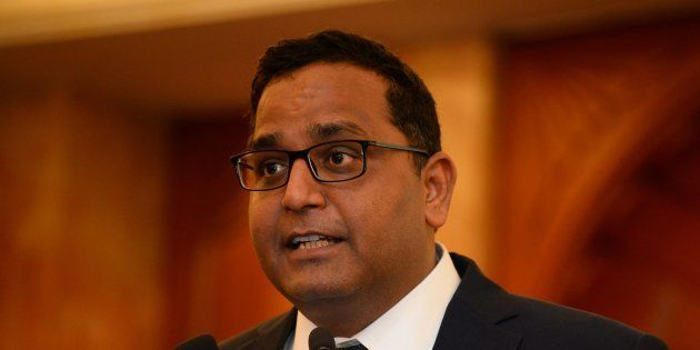 Founder and chief executive officer (CEO) of Paytm Vijay Shekhar Sharma in a file