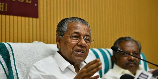 Pinarayi Vijayan, Chief Minister of Kerala, in a file