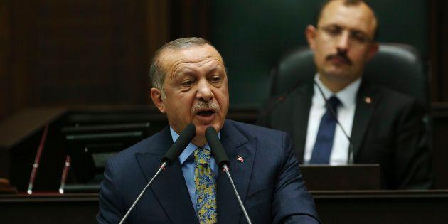 Turkey's President Recep Tayyip Erdogan in Ankara on