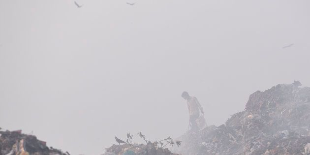 A fire has been raging at the Bhalswa landfill site since October 20, raising concerns about rising pollution...