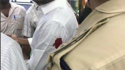 Jaganmohan Reddy Stabbed On Arm By Man Seeking